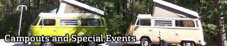 Campouts and Special Events